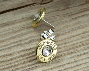 Custom Sterling Silver Cuff Bullet Bracelet 7mm-08 Elegant 308 Winchester 45 Auto 30-06 USA Rifle 243 270