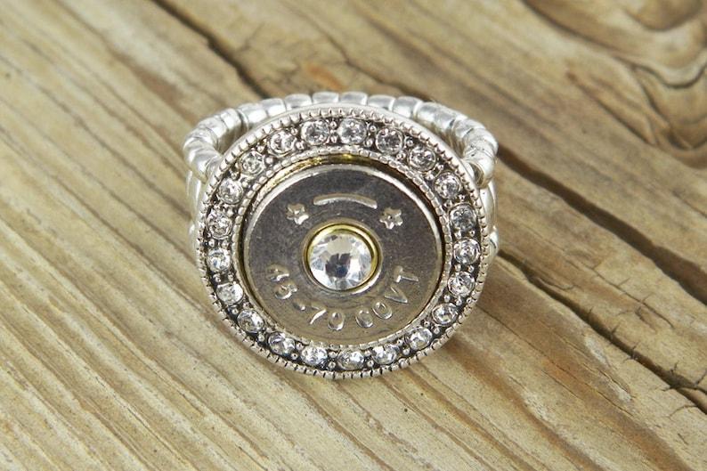 Bullet Ring / Fire & Ice 45-70 Bullet Ring SL-4570-N-FIR / image 0