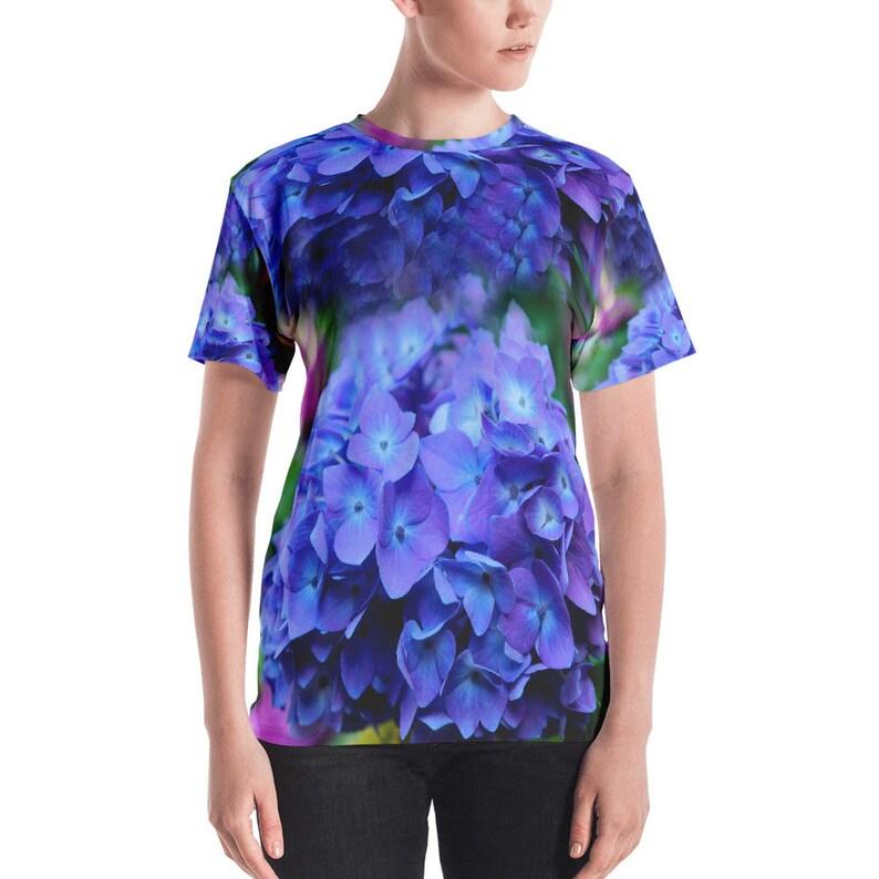 78c4ea59adfb Hydrangea Blue Women s T-shirt