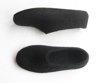 White Slippers Women Felt House Shoes Eco Friendly Felted Etsy