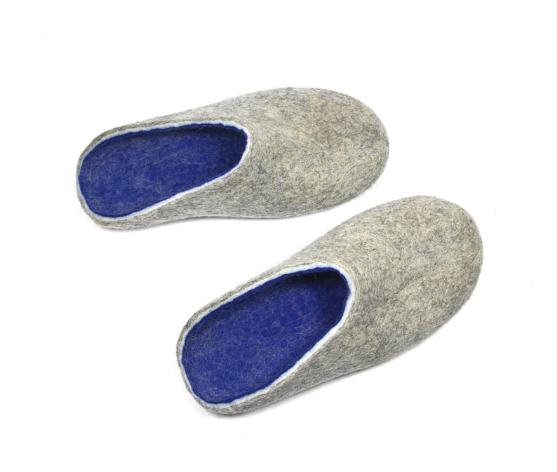 b5c577f431fa5 Mens House Slippers Wool Felt Slippers Clogs For Men Womens Clogs Slip Ons  Felted Slippers, Wool Shoes For Women, Warm Slippers, Christmas