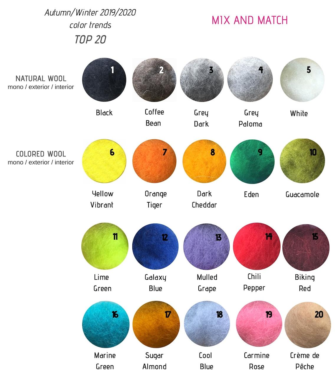Nuevas botas chukka de lana en Esmeralda Gris para Hombre. Botas de fieltro, Botas de lana para hombre - Mix Match 20 colorblocks personalizados