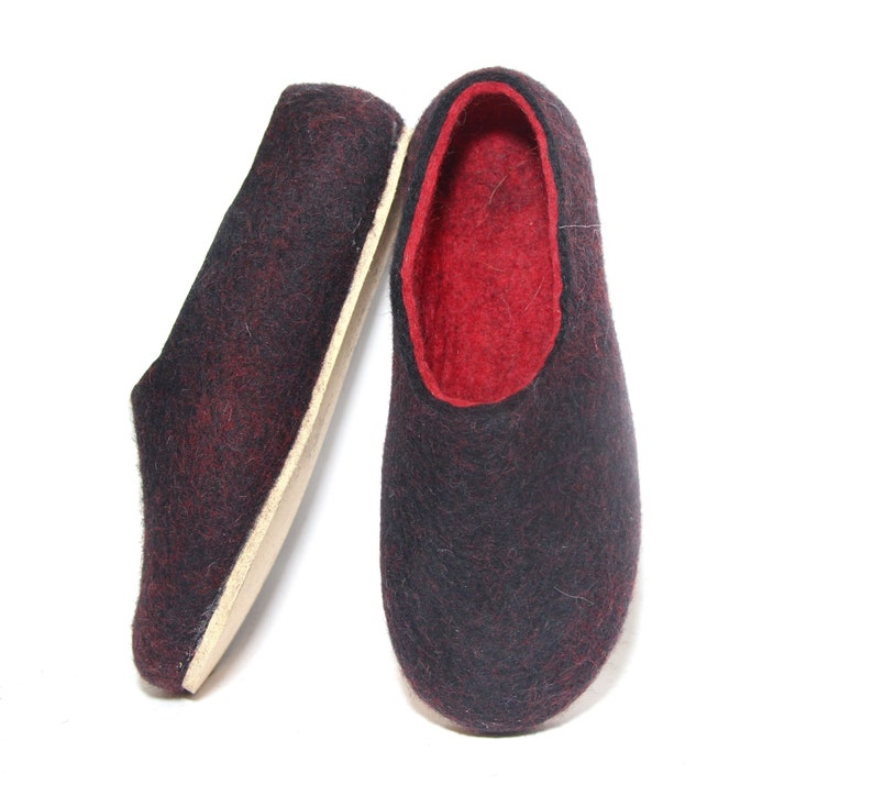 63be881f980 Ladies Slippers Felt Loafers women LDR Gift Valentines