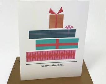Holiday Cards / Seasons Greetings / Christmas Cards / Set of 8
