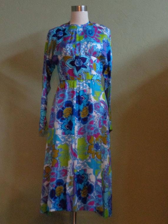 Vintage 60's-70's A Loree Original Long Sleeved Mi