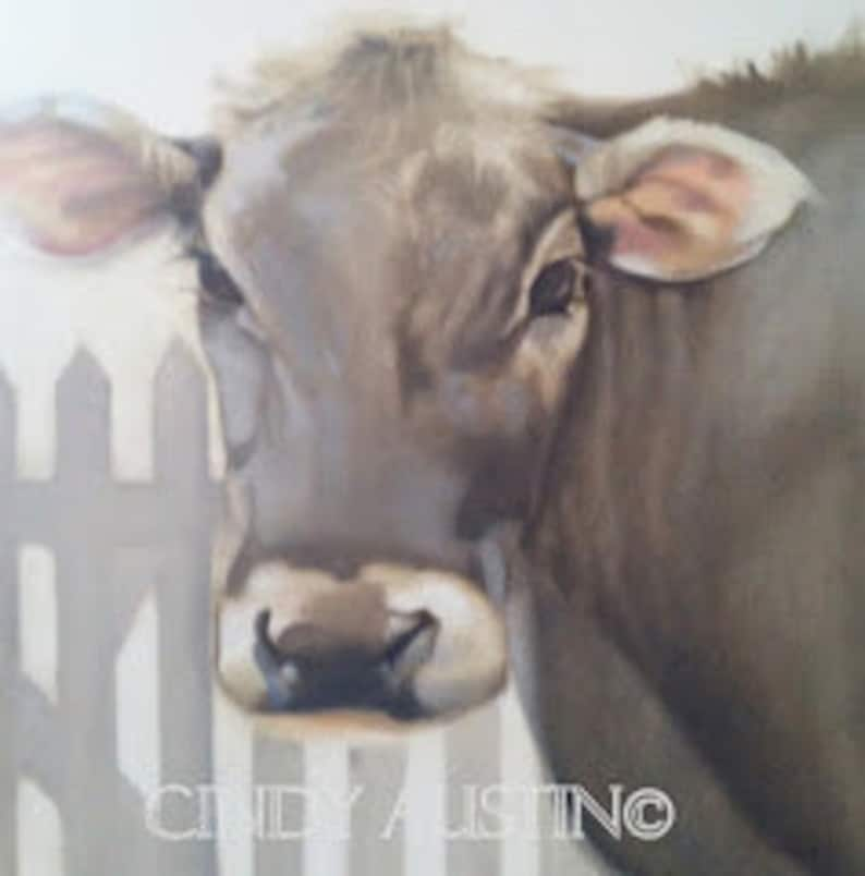 Cow painting image 0