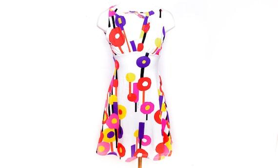 Roberto Cavalli Y2K Floral Mini Dress Y2k  Cavalli