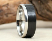 Carbon Fiber and Cobalt Ring