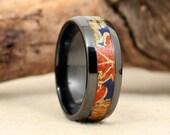 Chiyogami Autumnal Syzygy Ring