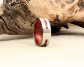 California Redwood and Cobalt Ring