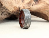 Hand Wrought Damascus ONLY ring