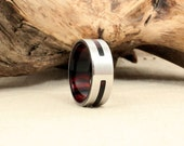 Cocobolo and Cobalt Ring
