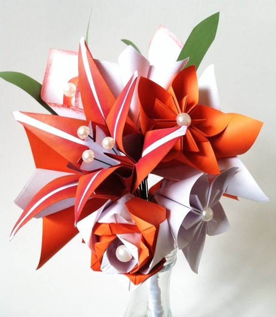 Origami Calla Lily with folding instructions in step-by-step pics ... | 654x570