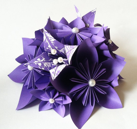 Paper flower wedding centerpiece paper flowers and lilies etsy image 0 mightylinksfo