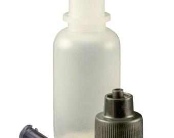 TCG Floral 1/2 oz Squeeze Bottle & Luer Lock Tip Cap Kit Bag of 10