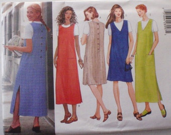 Fast and Easy Jumper and Top Sewing Pattern for Misses and Misses Petite - Butterick 5926 - Sizes 8-10-12, Bust 31 1/2 - 34, Uncut