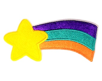 Gravity Falls Mabel Pines (Shooting Star) Iron-On Embroidered Patch