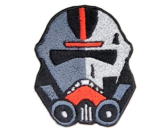 Bad Batch/Clone Force 99 Hunter Inspired by Star Wars Embroidered Iron-On Patch