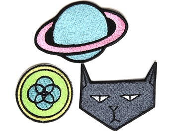 Kipo and the Age of Wonderbeasts Patch Set *SET OF 3* Embroidered Iron-On Patches