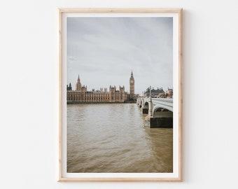 London Photography, London Art Print, Big Ben Photography Print, London Artwork, London Wall Art, Big Ben, London Skyline, Travel Wall Art