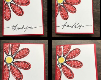 Pick a Petal Cards Blank