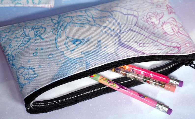 Luna Moth Fairy Pencil Pouch