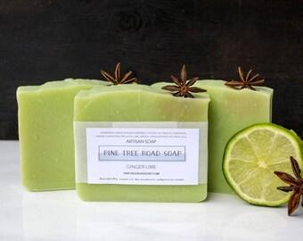 GINGER LIME Bar Soap