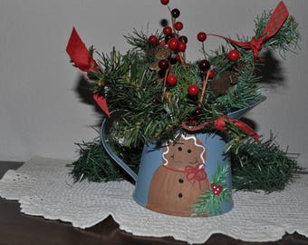 SALE Ginger Bread Man  Christmas Table Decoration