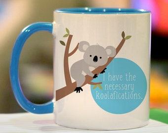 Koala Pun Etsy