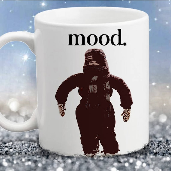 A Christmas Story Kid In Snowsuit.A Christmas Story Movie Inspired Snowsuit Mood Color Accent Mug 11oz Or 15oz