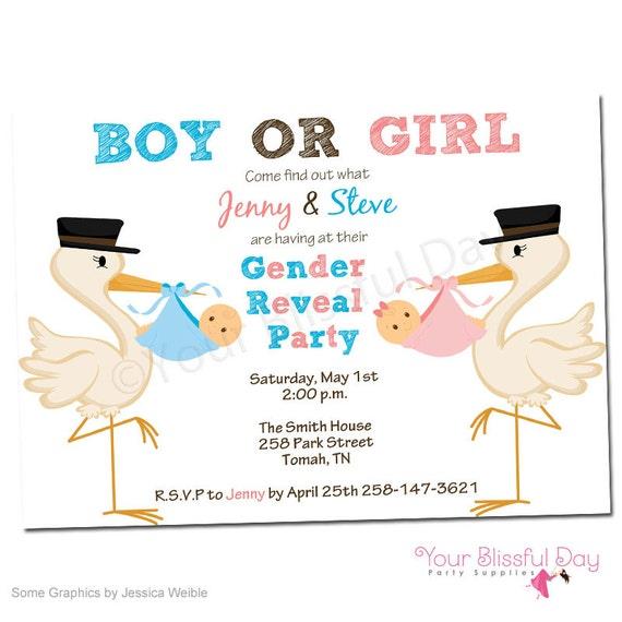 Gender reveal baby shower printable invitations 204 etsy image 0 filmwisefo
