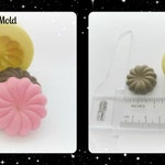 Dollhouse Cake Silicone Mold Charm Pendant Kawaii Resin Polymer Clay Mold