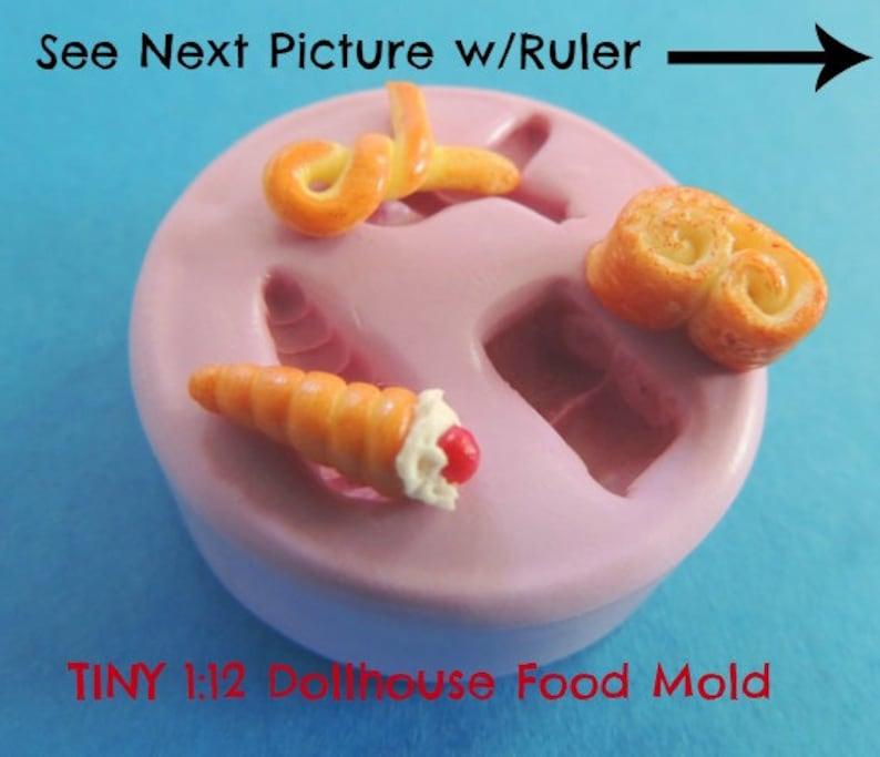 Miniatures Silicone Mold Teeny Tiny Dollhouse Food Resin image 0