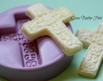 Cross Silicone Butter Mold Silicone Cross Mold Resurrection Chocolate Molds Polymer Clay Cross Mold