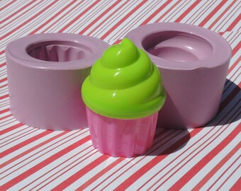 Silicone Cupcake Mold Polymer Clay Resin Soap Mold Deco Sweets Kawaii Soap Silicone Flexible Clay Resin Mould