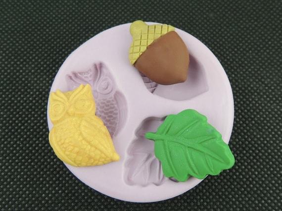 Silikon Eule Form Eichel Blatt Butter Pat Mold Fondant Kuchen Etsy