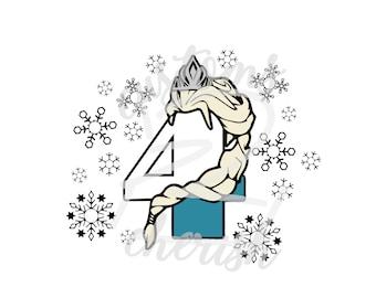 Frozen Birthday Svg Etsy
