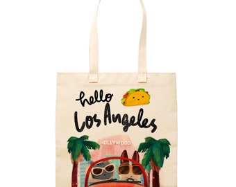Hello Tokyo Tote Bag