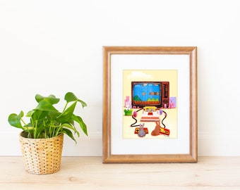Video Game Art Print