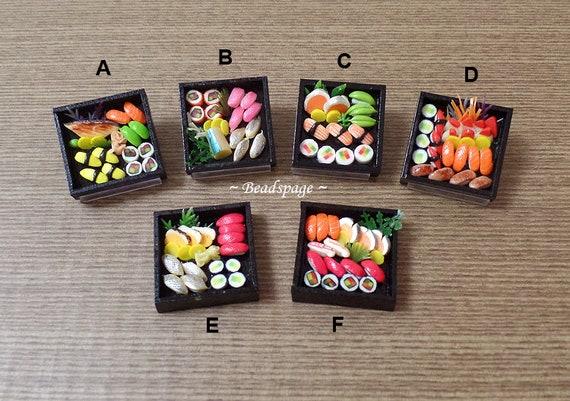 1:6 Dollhouse Miniatures Handmade Sashimi Sushi Japanese Food Deco Barbie Blythe