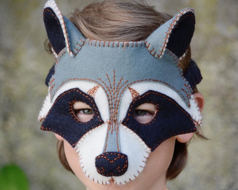 Raccoon Mask PDF Pattern