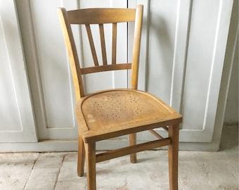 Vintage French Bistro Chair / vintage bistro chair / french vintage chair / cafe chair / dining chairs / baumann style chairs & French bistro chair | Etsy