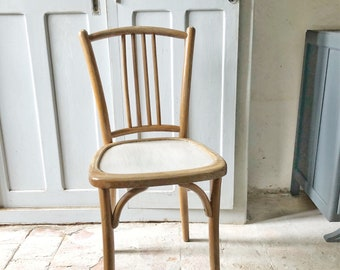 Vintage French Bistro Chair / vintage bistro chair / french vintage chair / cafe chair / dining chairs / baumann style chairs & Cafe chairs   Etsy