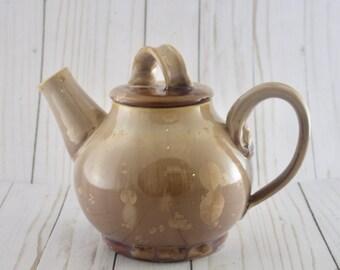 Mocha Crystalline Ceramic Teapot, Steeping