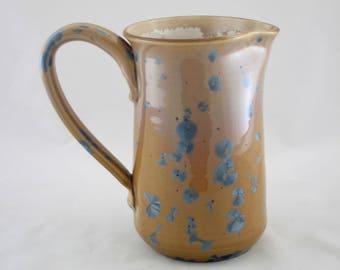 Prussian Ceramic Pitcher, Straight