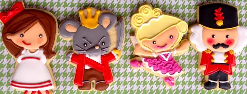 2 Dozen Nutcracker Ballet Themed Sugar Cookies