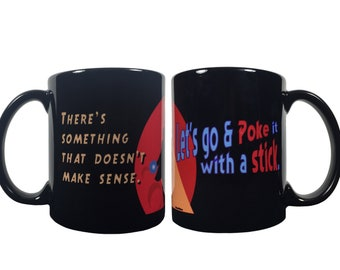 11th Who Doctor Double-Sided Mug Lets Go Poke It With a Stick