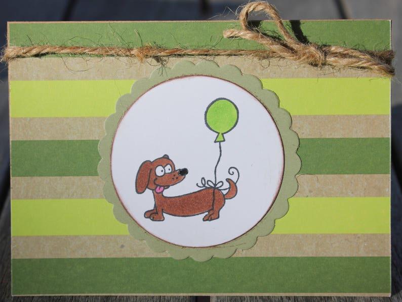 Birthday Card Dog Themed Childrens