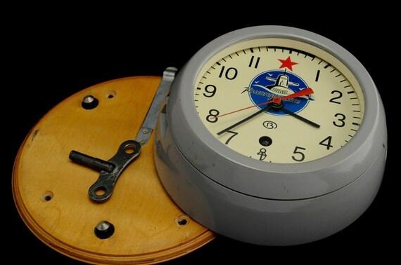 HANDS NEW!! FULL SET FOR RUSSIAN SOVIET SUBMARINE NAVY MARINE SHIP WALL CLOCK