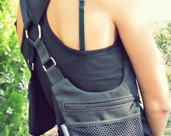 Holster bag // Denim or Cotton // Black or Brown